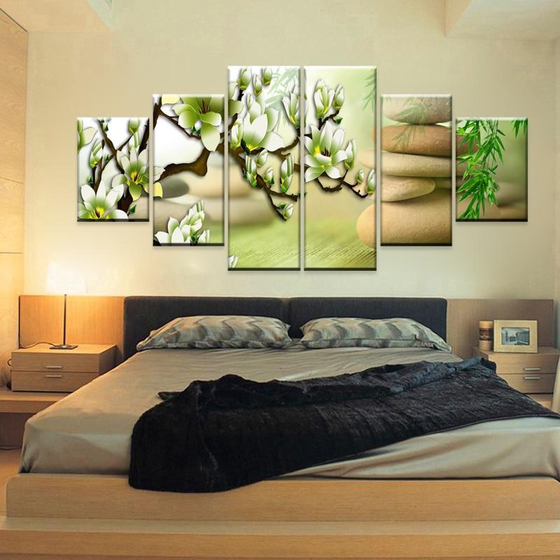 Compra flor de la magnolia de fotos online al por mayor de - Cuadros de dormitorios ...