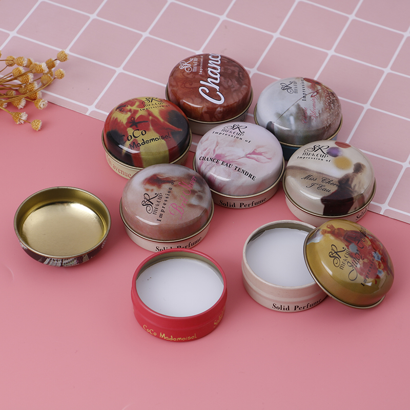 1PC 8 Kinds Of Fragrance Alcohol-free Solid Perfumes And Fragrances Deodorant Fragrance Magic Solid Perfume For Men Or Women