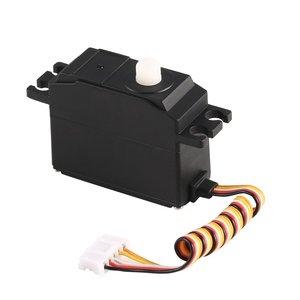 Image 5 - 25g Kunststoff Servo Lenkgetriebe Servo für 1/12 Wltoys 12428 12423 RC Auto Lkw Modell Steering Teil Zubehör Micro RC Servo