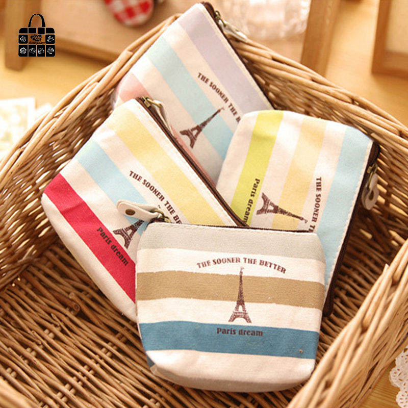 RoseDiary colorful rainbow tower canvas zipper Kids Wallet Kawaii Bag Coin Pouch Children girl Purse Holder Women Coin Wallet 29 64 x 33 64 x 19 32 motor carbon brush for electric drill