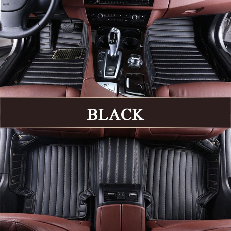 Custom fit car floor mats for Audi A1 A3 A4 A6 A7 A8 Q3 Q5 Q7 TT TTS R8 RS5 RS6 RS7 3D car styling carpet floor liners
