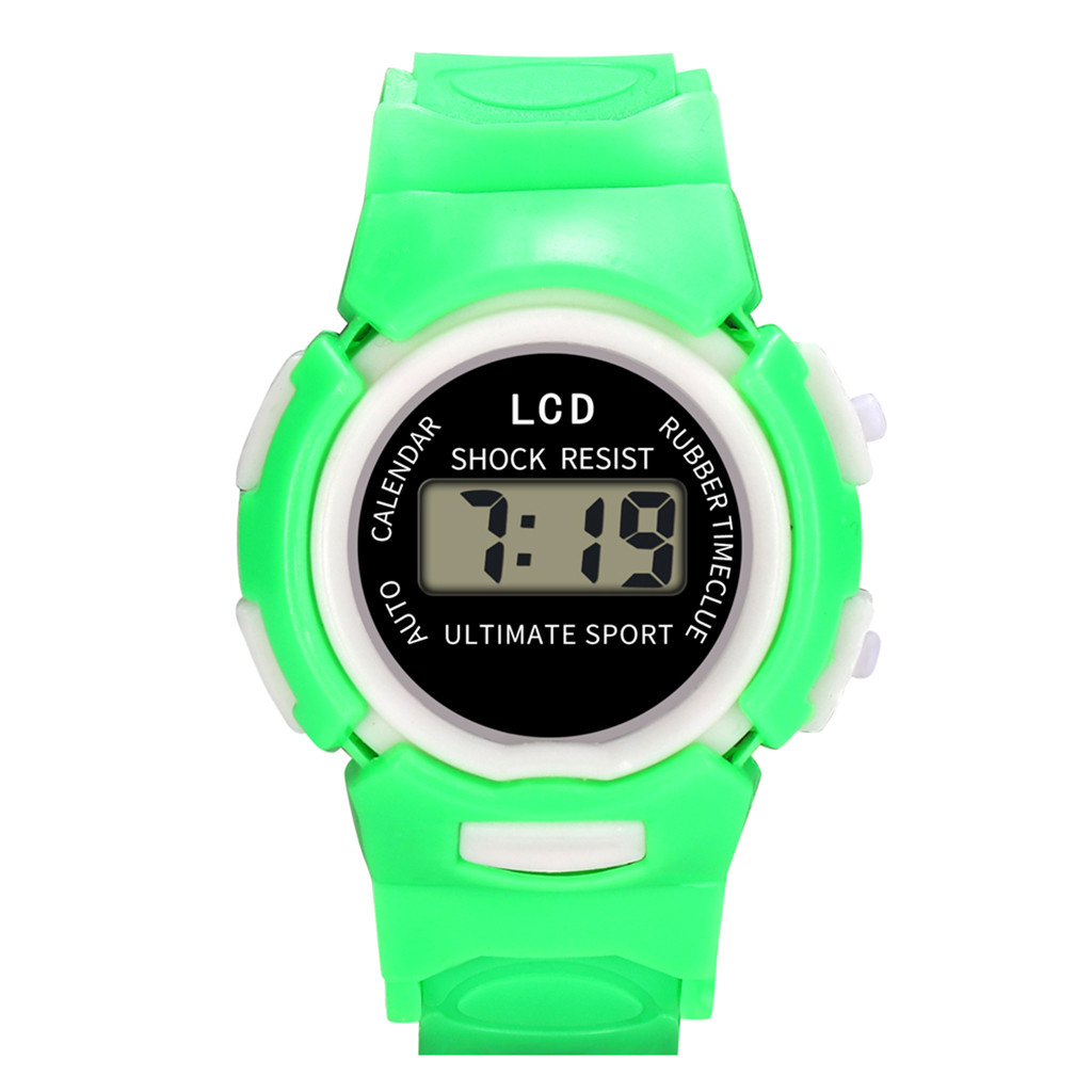 Дети ребенок мальчик девочка часы студент Цифровые спортивные светодиодные наручные часы zegarek dzieciecy Ниос релох Монтре enfant не relgio ребенка