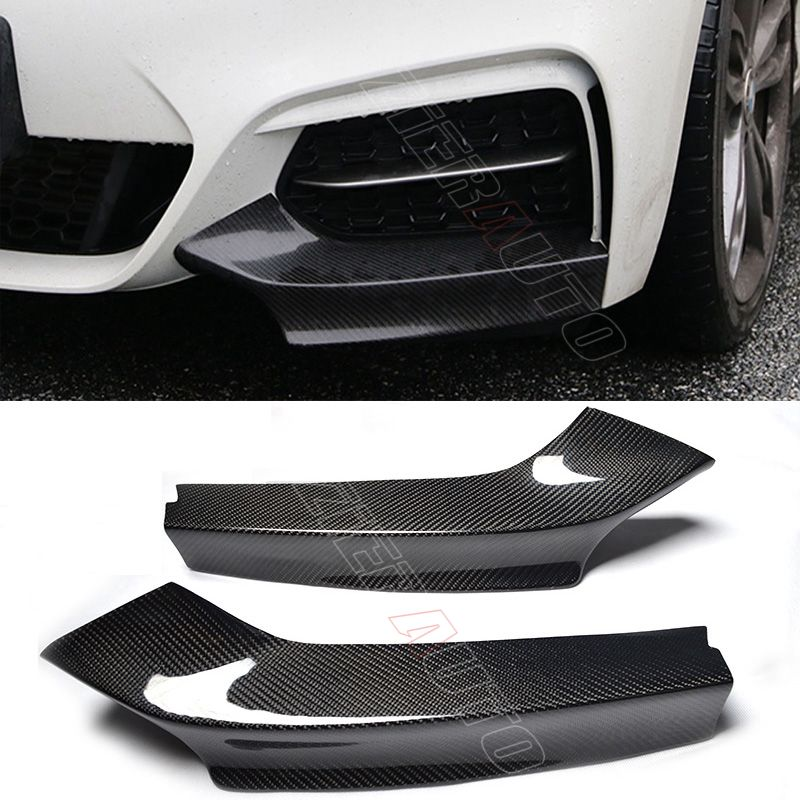 Carbon Fiber Front Bumper Flaps for BMW M235i/M240i F22 Carbon Flaps 2 Series
