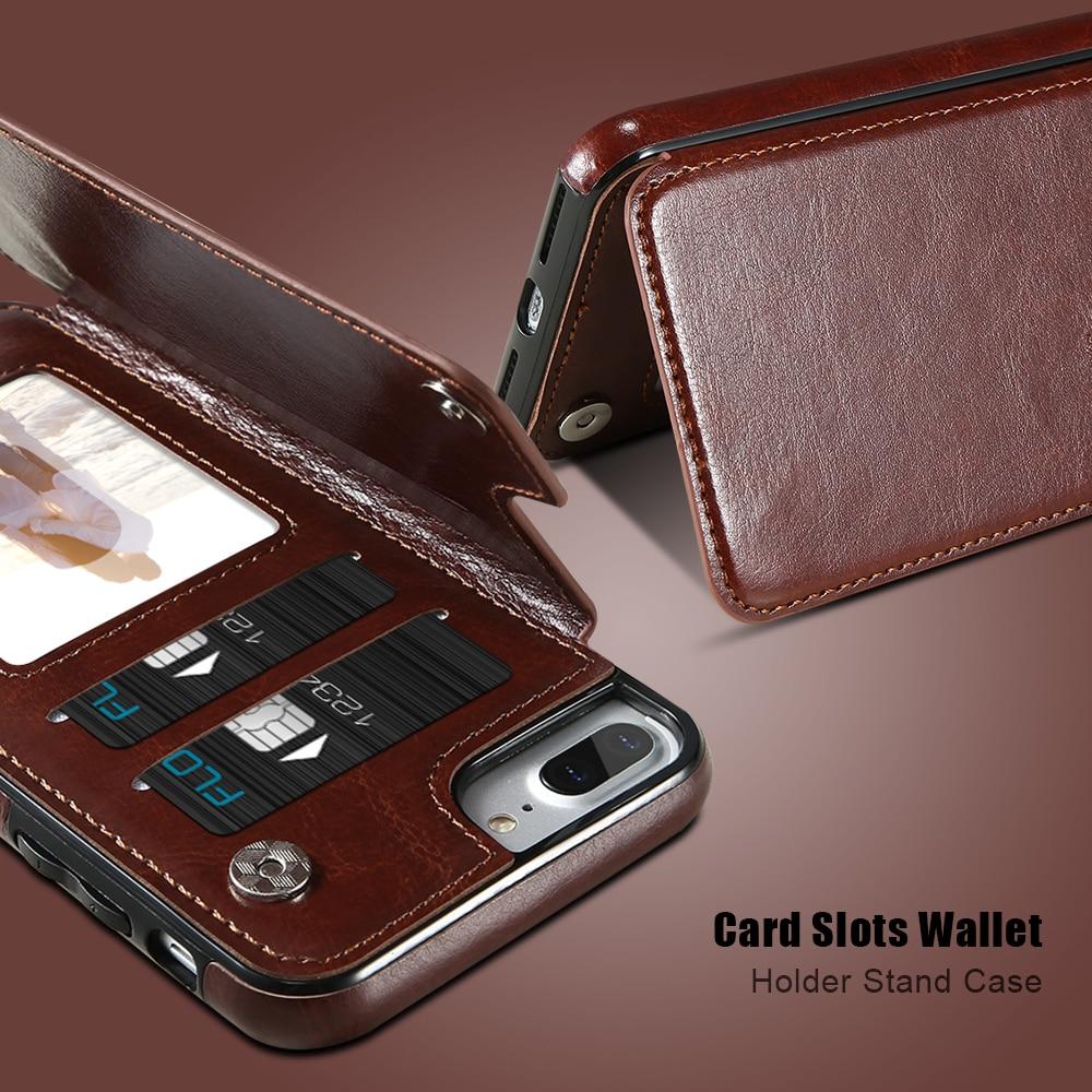KISSCASE Wallet Cases für iPhone 11 Pro Max 6S 6 7 8 Plus XS Max - Handy-Zubehör und Ersatzteile - Foto 5