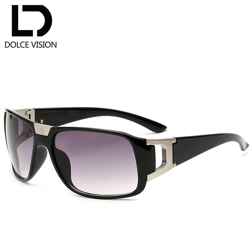 DOLCE VISÃO Envoltório Legal Óculos De Sol Para Homens de Alta Qualidade  Designer de marca óculos de Sol Pretos Masculinos Gradiente Lente UV400  Oculos ... fc79ff2c04
