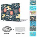 Deer animal printed Case for MacBook Pro Retina 13 15 Mac Book Air 11 13 12 inch A1534 A1466 A1502 A1278 laptop cover shell