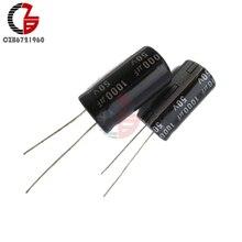 10 шт. 1000 мкФ с алюминиевой крышкой, 50В 105C электролитический конденсатор с радиальными выводами 13x21 мм