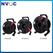 Portable Telecom Outdoor Military Retractable Tactical Fiber Optic Cable Empty Handle Cable Wire Reel/Winding Drum/Roll/Tray