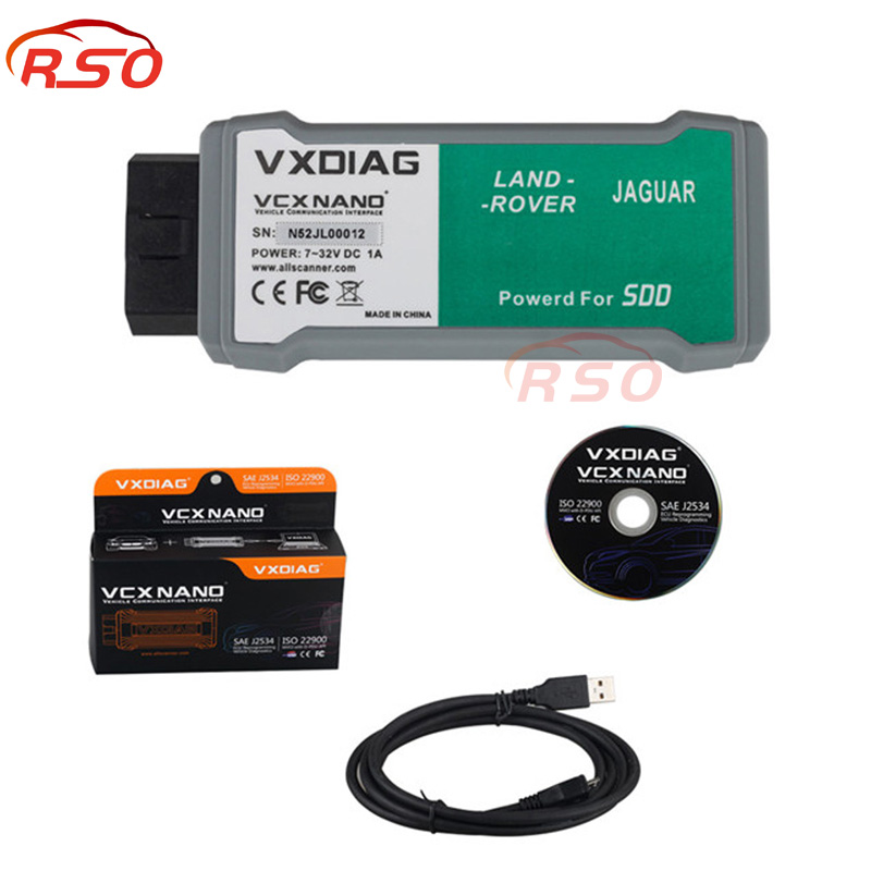 VXDIAG VCX NANO for L-and Ro-ver & J-agu-ar Software SDD V145 Offline Engineer Version For All Protocols free ship j greer nano and giga challenges in microelectronics