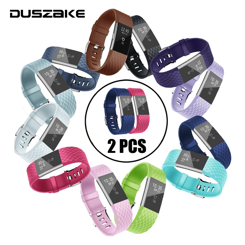 Soft Silicone Bands For Fitbit Charge 2 Band Smart Watch Bracelet For Fitbit Charge 2 Band Replacement Strap For Fitbit Band