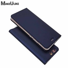 hot deal buy makeulike slim magnetic case for huawei p10 p10plus flip cover pu leather mobile phone bags cases for huawei p10 plus