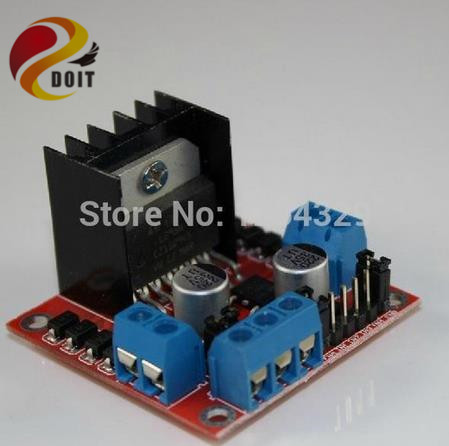 1PCS Dual H Bridge DC Stepper Motor Drive Controller Board Module L298N DIY RC Toy Car Tank Chassis Remote Control Development