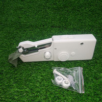 Мини Портативный ручной Швейные машины стежка шить рукоделие беспроводные ткани электрический швейная машина стежка набор