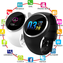 2019 Upgrade Fashion Smart Watch HR Blood Pressure Monitor Women Physiological Reminder Smartwatch For Android IOS pk H2 P68 B78