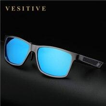 Aluminum Polarized Lens Sunglasses Men Sport Mirror Driving Sun Glasses 2017 UV400 Glasses Square Goggle Eyewear