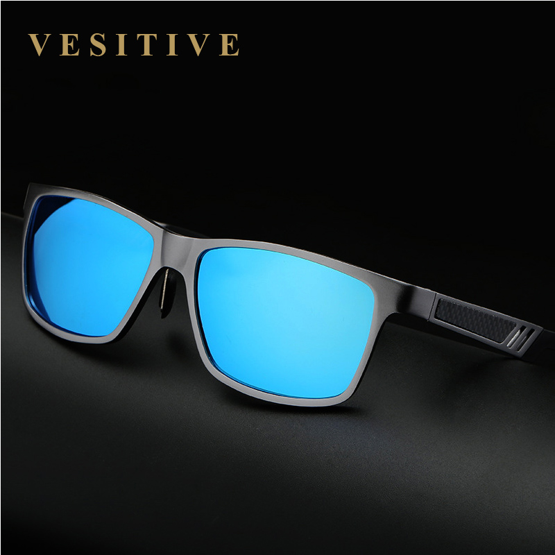Aluminum Polarized Lens font b Sunglasses b font Men Sport Mirror Driving Sun Glasses 2017 UV400