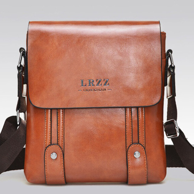 c6f9355ad1e 2015 England Style Men Messenger Bags Oil Wax Skin Sacoche Homme Marque  Casual Business Shoulder Crossbody Bags Men Work Bags