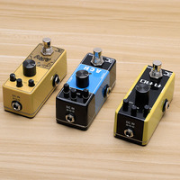 Guitar Pedal Mini Single Guitar Effect Pedals Reverb Delay Chorus Guitar Effector Monoblock Effects Portable Guitar Accessories