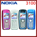 Original Unlocked Nokia 3100 GSM Bar 850 mAh Support Russian & Keybaord  keyboard  Cheap and old Cellphone Free Shipping