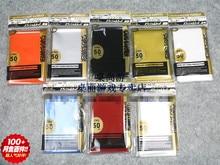 10 პაკეტები / ლოტი (500 ცალი) სამაგიდო თამაშები კარტის ყდის ყუთის დამცავი უფასო გადაზიდვა