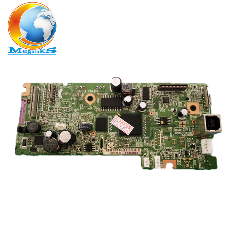 Mainboard For EPSON L355 L358 L365 L366 L375 L385 printer Main logic mother board 1pcs used main board formatter board for epson l365 l366 l375 printer main logic mother board