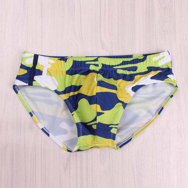 Mens Printed trendy low waist briefs