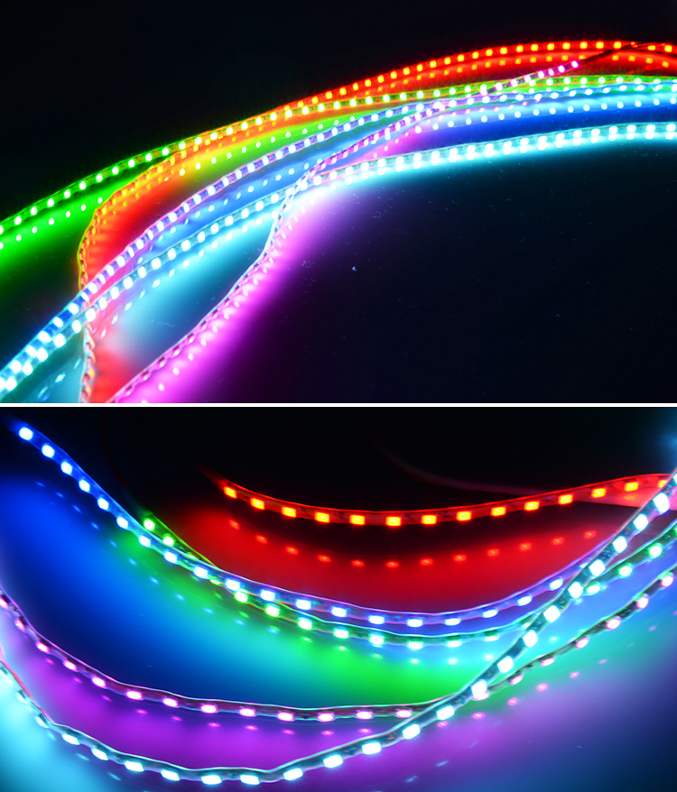 1pc 45cm Car Auto Decorative Flexible LED Strip 12V Waterproof Car Styling LED Light Strip For Motorcycle Home Decoration
