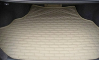 special leather car trunk mats thicker section to clean the rear compartment for Lincoln MKZ car seat cushion cover