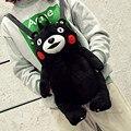Черный Кумамото Медведь Рюкзак для Женщин Япония Плюшевые Рюкзаки для Девочек-Подростков Лолита Сумка Kawaii Bagpack mochilas femininas Q131