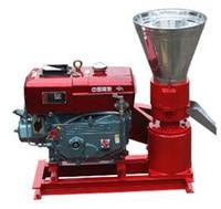 Manual KL120A Diesel Engine Pellet Mill / Wood Pellet Machine