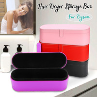 PU Leather Storage Organization Travel Case Hair Dryer Hard Case Cover For Dyson For Supersonic HD01 Portable Storage Pouch