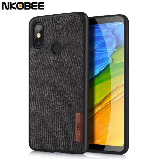 promo code 6189f 11edb US $4.43 |NKOBEE For Xiaomi Redmi Note 5 Pro Case Original Redmi Note 5 Pro  Cover Silicone Cotton Cloth Redmi Note 5 Pro Case Back Cover -in Fitted ...