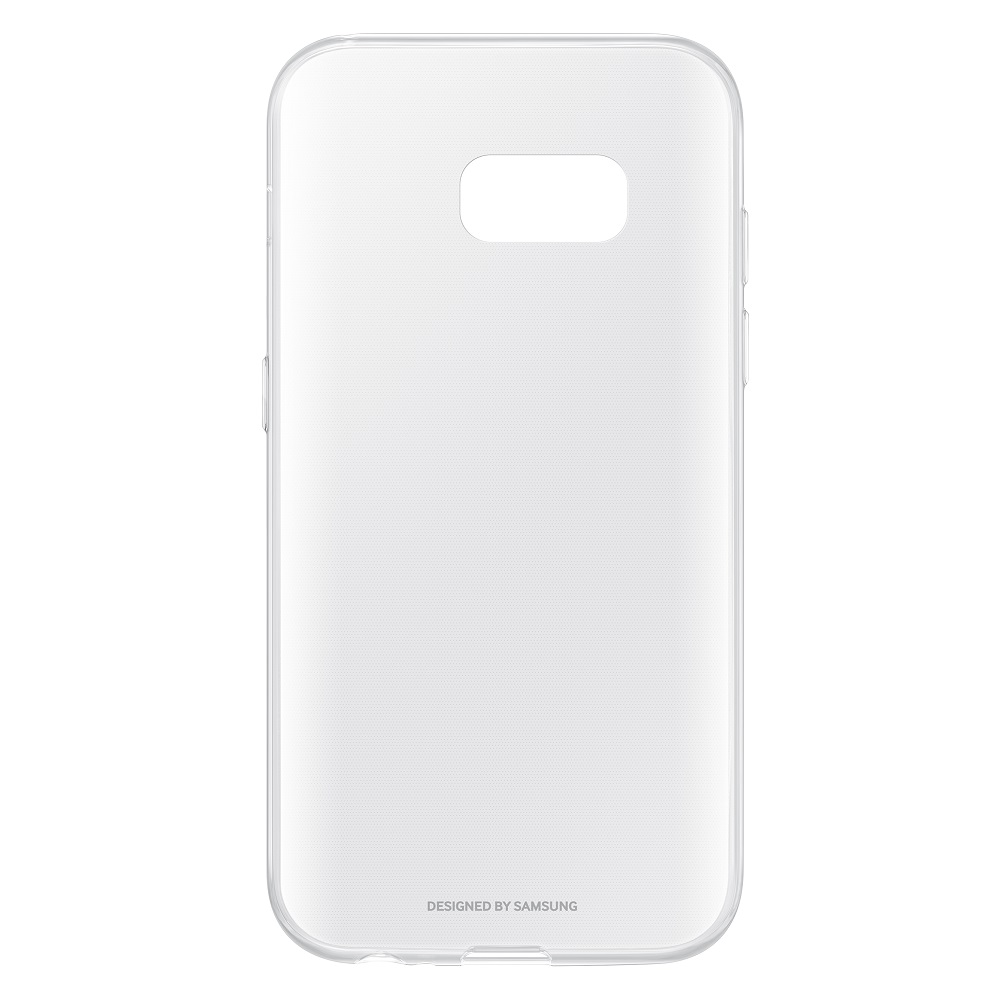Case for Samsung Clear Cover for Galaxy A3 (2017) EF-QA320T Phones Telecommunications Mobile Phone Accessories mi_32790290632 case for samsung silicone cover galaxy s9 ef pg960t phones telecommunications mobile phone accessories mi 1000005534533