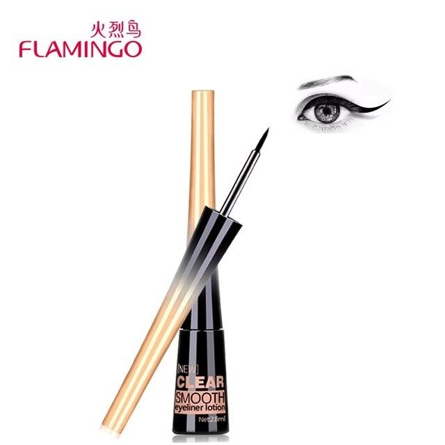 Фламинго Smooth Liquid Eye Liner гель Красота составляют косметический Подводка для глаз черный анти-пот легко носить Долгое подводка для глаз 158