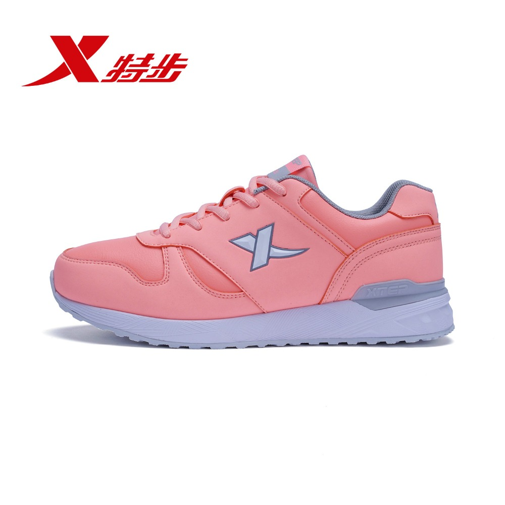 985418119907 Xtep 2018 Women Autumn and winter new fashion trend women's running shoes for women
