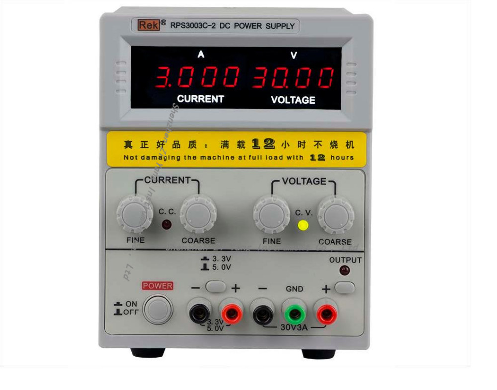 Four-digit display RPS3003C-2 adjustable DC power supply 30V / 3A linear power supply repair four digit display rps3003c 2 adjustable dc power supply 30v 3a linear power supply repair