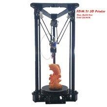 2019 Sinis T1 3D Printer DIY KIT Mini Printer 3D Machine Reprap Prusa i3 Aluminum & Acrylic Extrusion 3d Printer PLA 3D Filament