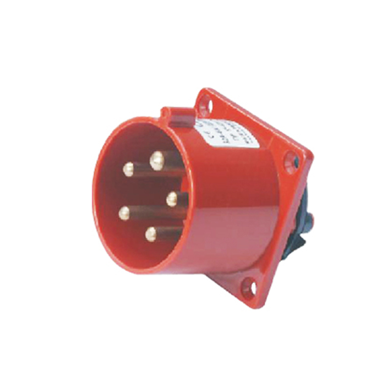 32A 5Pin Industrial Implement Hide Direct Socket Connector SF-625 Concealed Installation 220-380/240-415V~3P+N+E Waterproof IP44