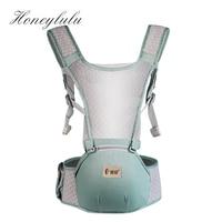 Honeylulu Summer 3 in 1 Mesh Baby Carrier Breathable Storage Sling For Newborns Kangaroo For Baby Ergoryukzak Backpack Hipsit Backpacks & Carriers    -