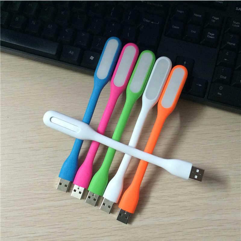 Gel Silica Multicolor Mini Book Nhẹ Reading Đèn USB LED Ánh Sáng Ánh Sáng Máy Tính Bóng Đèn Máy Tính Xách Tay PC Đêm Reading Ánh Sáng