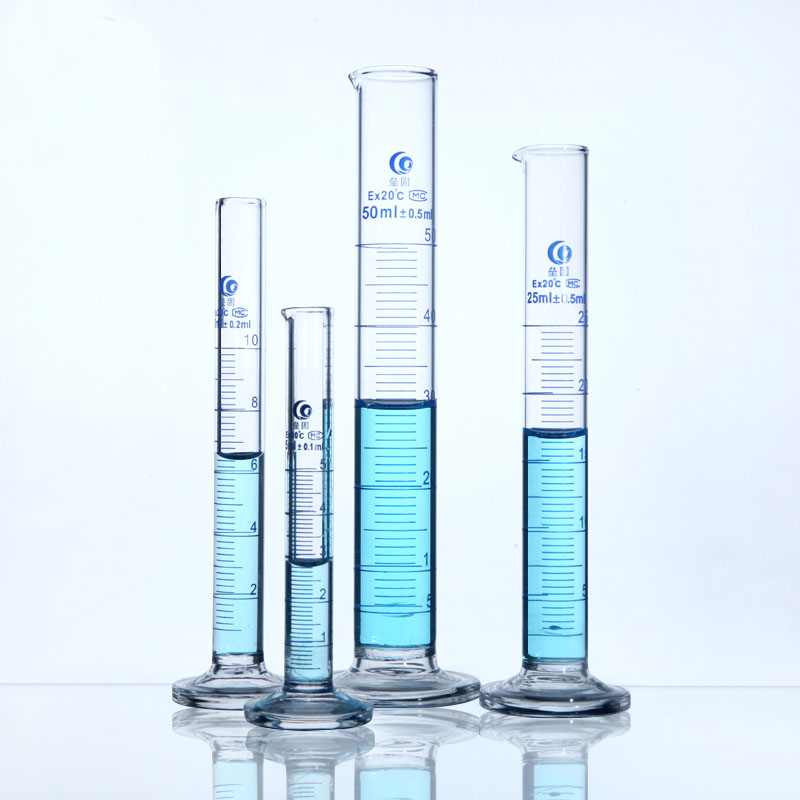 1 pc 500 1000 2000 ml verre gradué cylindre mesure laboratoire mesure cylindre chimie laboratoire outil livraison gratuite