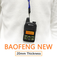 BaoFeng BF T1 20 Channels Mini Walkie Talkie Ultra Thin Micro Driving 400 470MHz BaoFeng Hotel