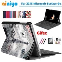 Высококачественный чехол для Microsft Surface Go 10 дюймов, складной защитный чехол из искусственной кожи+ Подарочная пленка