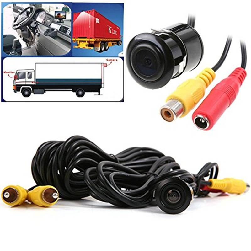 Car Rear View Reverse Parking Camera Waterproof NTSC PAL for Backup Monitor 18 5mm Hole Saw