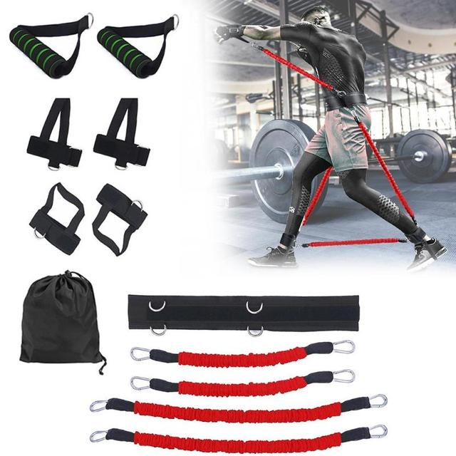 Sports Fitness Resistance Bands Stretching Strap Set for Leg Arm Exercises Boxing Muay Thai Gym Bouncing Training Equipment 3