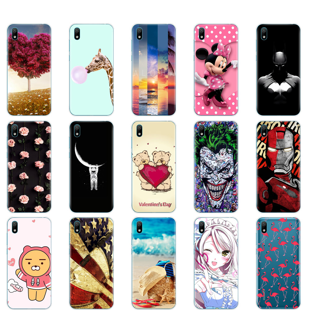 Case For Huawei Y5 2019 Case Silicone TPU Soft Cover For Huawei Y5 2019  Coque Bumper 5.71 Inch  Funda Skin Shockproof