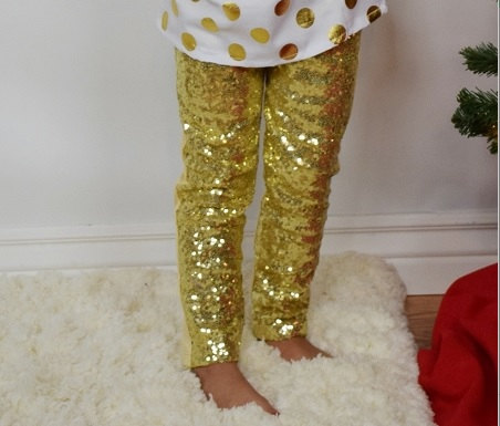 ef2edd78677b9 Detail Feedback Questions about Gorgeous Sequin Leggings Sparkle Leggings  Gold pants Metallic Leggings baby girls bottoms on Aliexpress.com | alibaba  group