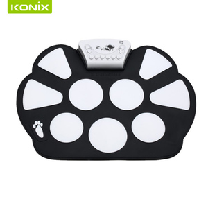high quality W758 kit roll up drum with loud speaker and recharger