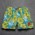 Новые приходят Черепаха Дизайн Мужские Шорты Surf Совета Шорты Летний Спорт Пляж Бермудские Шорты Quick Dry Серебряный Boardshorts Homme