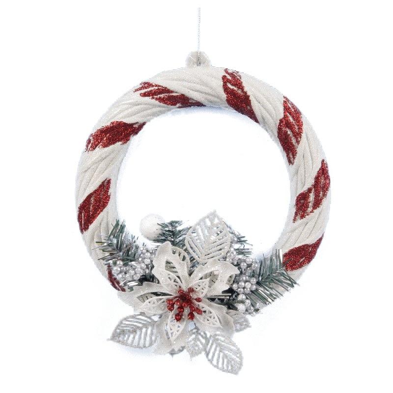 blanco home ventana de la puerta de navidad adornos de navidad decoracin del rbol de navidad